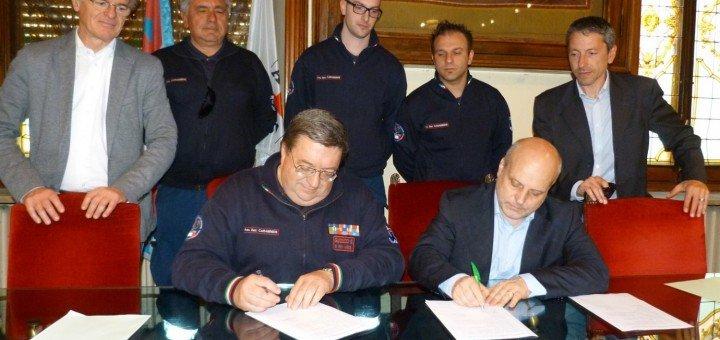convenzione con l'Associazione Nazionale Carabinieri