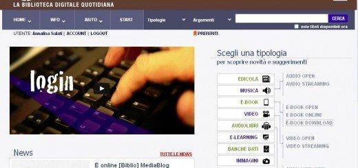 """La Biblioteca Civica """"G. Ferrero"""" diventa virtuale"""
